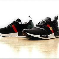 56ce7296a ADIDAS NMD R1 x Bee Gucci Black High Premium Original Shoes