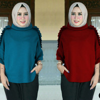 Harga 64108 leoni blouse baju tunik murah atasan muslim wanita baju | WIKIPRICE INDONESIA