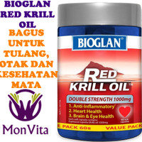 Bioglan Red Krill Oil Double Strength 1000mg - 60 Caps