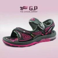 sepatu sandal wanita Air crush gunung Fuchsia (G7678W-15) anti slip o