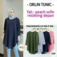 tunik kemeja blouse Orlin tunic muslim by Mazel Cloth