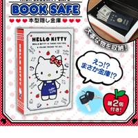 Brankas besi hello kitty bentuk buku ori sanrio jepang