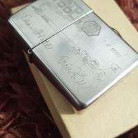 zippo silver plate