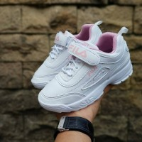 Fila Distruptor KIds Sepatu Anak Sneakers Kets Casual Perempuan