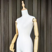 Manekin Tangan Kayu/Patung Setengah Badan Kayu