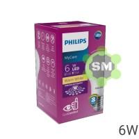 Lampu LED MyCare Philips 6W 230V Kuning