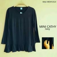 Baju Hamil Lengan Panjang Atasan Blouse Hamil Dan Menyusui Mini Cathy