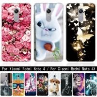 For Coque Xiaomi Redmi 4X Note 4 4X Case Silicone 3D Soft TPU Cover