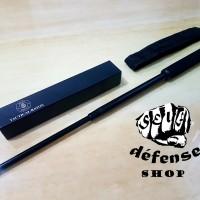 "Baton Stick ANT Solid Steel Hitam-Cold Blueing YRG ""Self Defense Shop"""