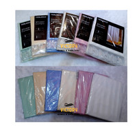 Shower Curtain/ Tirai Kamar Mandi / Yenlihco / Yehlinco / Yelico katun