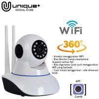 Unique IP CAMERA WIRELESS BABY MONITOR / IP CAM HD 720p 2 Antena V2