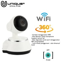 Unique Ip Camera CCTV Mini Wifi p2p Wireless Security Infrared Night