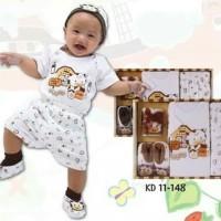 kiddy baby Gift set baju bayi New Born 11-148/paket kado baju bayi