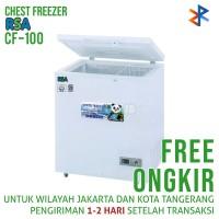 Harga chest freezer rsa cf 100 100 liter free   Hargalu.com