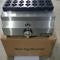 Mesin Sate Kue Telur Puyuh Kompor Gas/ Quail Egg Grill