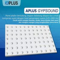 Papan Gypsum APLUS SOUND 12mm x 1200 x 2400 Penyerap suara ruangan