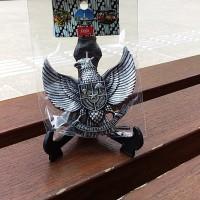 Souvenir Yogyakarta Magnet Kulkas Garuda Indonesia