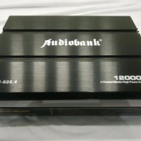 Car Audio Mobil High Power Amplifier 4 Channel Audioban Paling laku