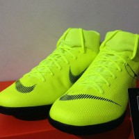ca9e3d59a Baru Sepatu Futsal Nike Superfly 6 Academy IC Volt Black AH7369-701