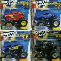 Hot Wheels Besar Monster Jam Includes Re-Crushable Car