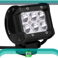 Harga lampu sorot 6 led cree worklight spot tembak kabut 18w motor   antitipu.com
