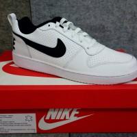 252fc191073 Sepatu NIKE COURT BOROUGH LOW 838937-100 Casual Sneakers WHITE-BLACK