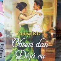 Buku Novel Obsesi dan Deja vu murah