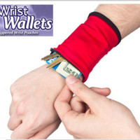 Wrist Wallet, Dompet Pergelangan Tangan, Dompet Olahraga - FTS114