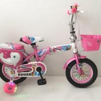 Sepeda Lipat Anak Kovan Original 12 Inch Model Terbaru - Khusus