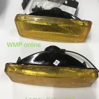 Harga bagus lampu kabut 666 1pc foglamp sorot motor   antitipu.com