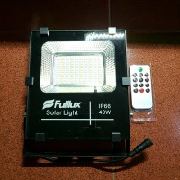 Solar Light 40 Watt, Lampu LED Tenaga Sinar Matahari+Solar Panel.