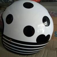 Helm Bogo Bermotif (tanpa kaca)