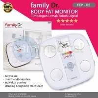 Harga jual alkes family dr body fat monitor atau timbangan lemak tubuh | Pembandingharga.com