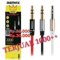Kabel Audio Aux Remax 3.5mm Cable 2M - Headphone Speaker Smartphone