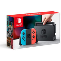 Nintendo Switch Console with Neon Red / Blue