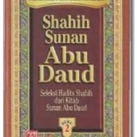 Buku Hadits Shahih Sunan Abu Daud Jilid 2