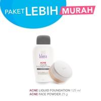 Paket Acne Liquid Foundation 125 ml & Acne Face Powder
