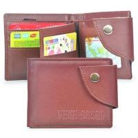 Dompet Lipat Bifold Wallet Pria Cowok Coklat Cokelat Java 7 AGL 620