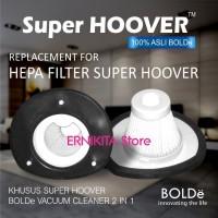Filter HEPA Sparepart Vacum Cleaner SUPER HOOVER BOLDE 100% Original