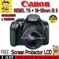 CANON EOS REBEL T6 KIT 18-55MM IS II / EOS 1300D KIT 18-55MM IS II
