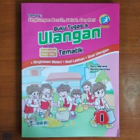 Buku Tugas dan Ulangan Tematik SD Kelas 1 Tema 6 Kurikulum 2013 Revisi