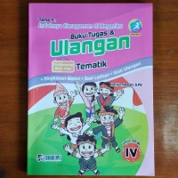 Buku Tugas dan Ulangan Tematik SD Kelas 4 Tema 7 Kurikulum 2013 Revisi