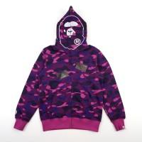 b290cfac Hoodie Bape 1St Camo Ape Purple Camo Mirror Quality 1:1 Original