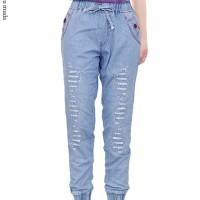celana jeans anak perempuan celana jogger anak