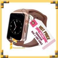 SMART WATCH KEREN JAM PINTAR SMART WATCH A1 SMARTWATCH U10 Hitam Gold