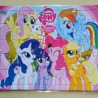 Puzzle / Puzle / Pazel Little Pony uk Besar belajar mengasah otak anak