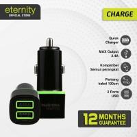 Eternity – Pandora | Quick Car Charger Murah Promo 2 USB