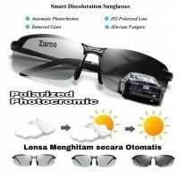 Kacamata siang malam Original photocromic lensa polarized + UV 400