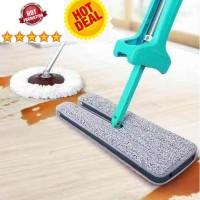 Double Sided Lazy Mop Inovasi Terbaru Alat Lap Pel Lantai Dua Sisi