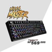 62e636c1d0e Digital alliance Meca Master RGB Blue Switch keyboard gaming